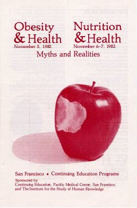 Obesity & Health; Nutrition and Health: Myth and Realities poster